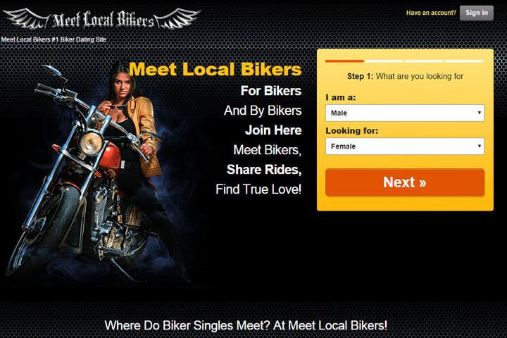 meet local bikers homepage