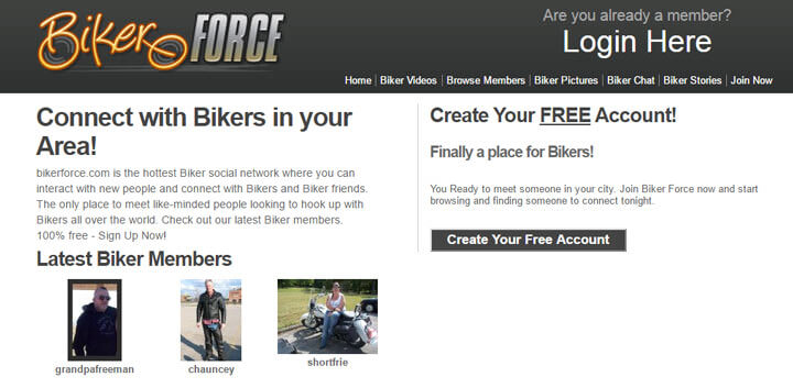 biker-force homepage