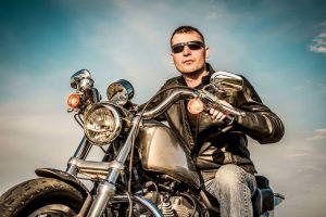 single biker