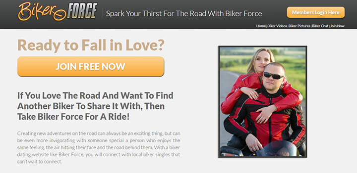 Biker Force Homepage